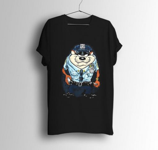 Tasmanian Devil Police T-Shirt KM