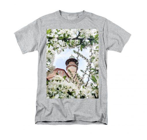 Tree Building Flower T-Shirt KM
