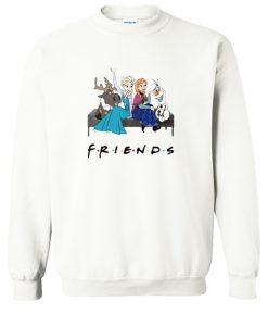 Walt Disney Frozen Friends TV Show Sweatshirt KM