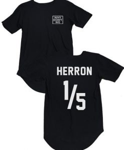 Why Don't We Herron Jersey T-Shirt KM
