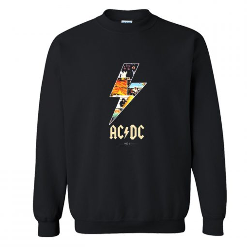 AC DC 1973 Sweatshirt KM