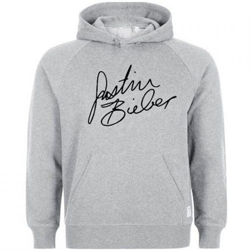 Justin Bieber Signature Hoodie KM
