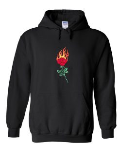 Rose Fire Hoodie KM