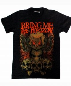 Skulls And Owl AO Bring Me The Horizon T-Shirt KM