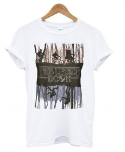Stranger Things Inspired Upside Down T Shirt KM