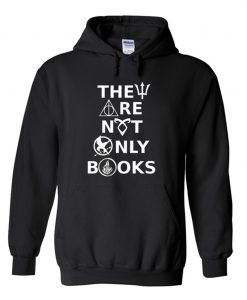 They Are Not Only Books Hoodie KM
