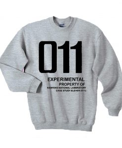 011 Experimental property of hawkins national laboratory sweatshirt KM