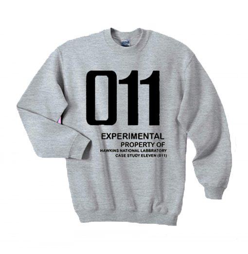 011 Experimental property of hawkins national laboratory sweatshirt KM