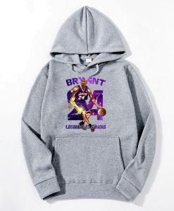 24 Kobe Bryant Printed Hoodie KM