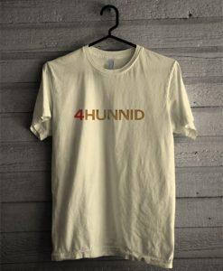 4Hunnid T Shirt KM