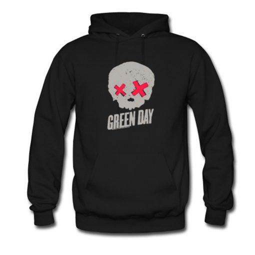 Green Day Skull Hoodie KM