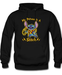My patronus is a stitch Hoodie KM