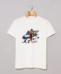 Simpsons Air Bart Michael Jordan Vintage T Shirt KM