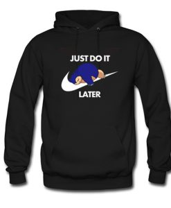 Snorlax Pokemon Just Do It Later Hoodie KM