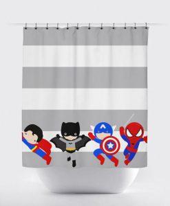 Superhero Shower Curtain KM