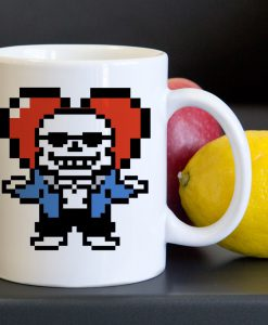 Undertale Sans Heart Tea Coffee Classic Ceramic Mug KM