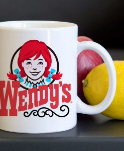 Wendys Burger Symbol Tea Coffee Classic Ceramic Mug KM
