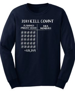 2017 Kill Count Sweatshirt KM