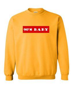 90s Baby Font Sweatshirt KM
