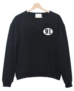 91 Number Sweatshirt KM
