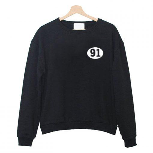 91 Number Sweatshirt KM