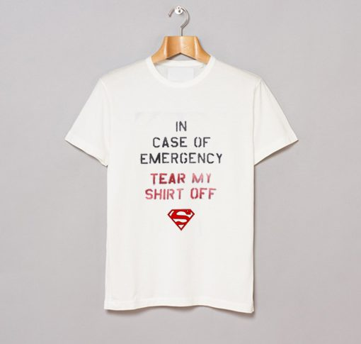 In Case of Emergency Tear My Shirt Off T-Shirt KM