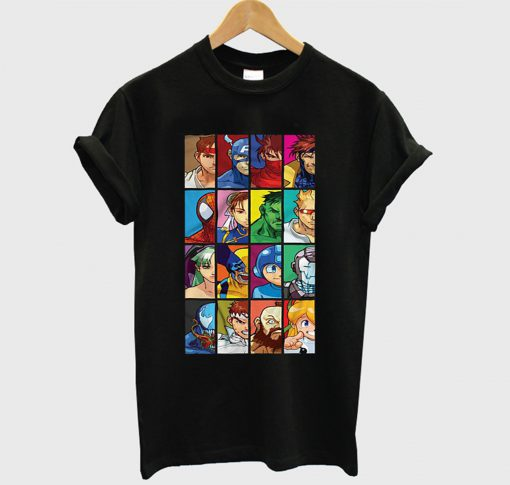 Marvel Vs Capcom T-Shirt KM