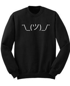 Shrug Emoji Sweatshirt KM