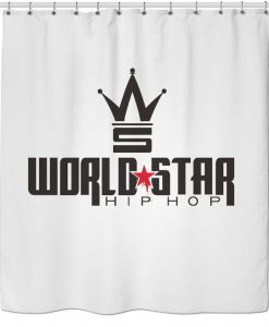 WORLDSTAR HIPHOP Shower Curtain KM