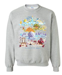 Walt Disney World Discover The Magic Sweatshirt KM