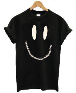 Zipper Mouth T-Shirt KM