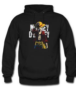 One Piece Monkey D Luffy Hoodie KM
