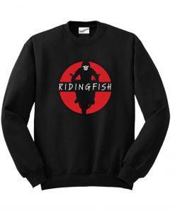 Ridingfish Logo Sweatshirt KM