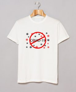 Stop Covid 19 T Shirt KM