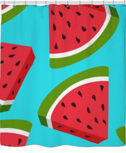 Watermelon Shower Curtain KM