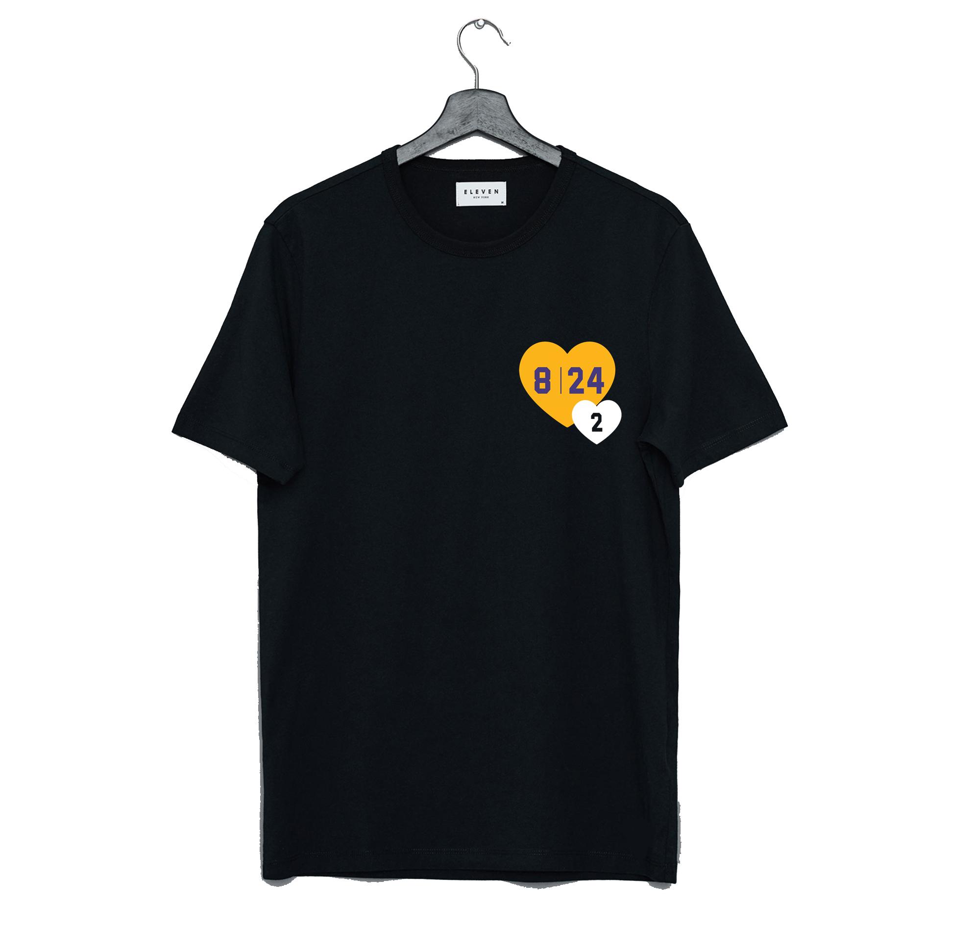 Kobe Bryant Tribute to 8 24 2 T-Shirt