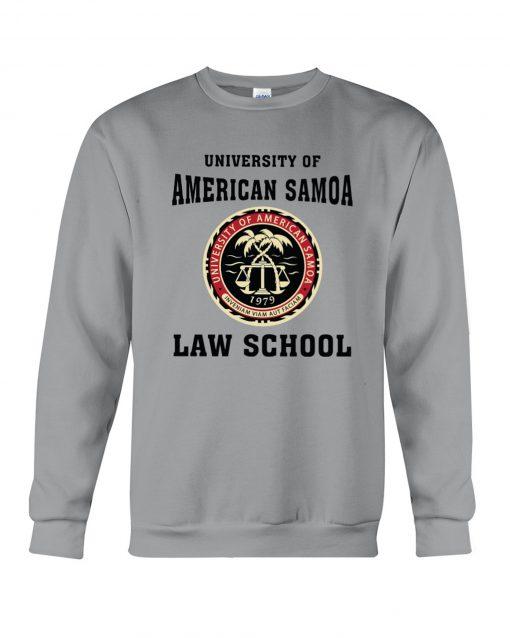 University of American Samoa Law School Sweatshirt KM