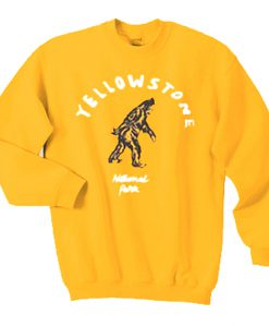 Yellowstone National Park Sweatshirt KM