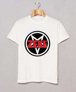 Zeke Pentagram Badge T Shirt KM