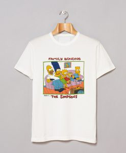 1989 The Simpsons Family Bonding T Shirt KM