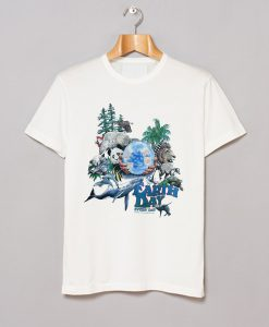 1990 Earth Day National Wildlife T-Shirt KM