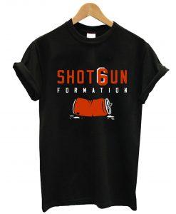 Shotgun Formation Cleveland Browns T-Shirt KM