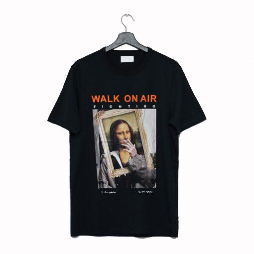 Smoking Mona Lisa T Shirt KM