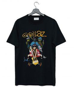 Gorillaz Band Unisex T Shirt KM