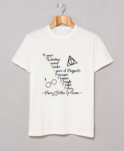 10 Years 1 Story Harry Potter Is Forever T Shirt KM