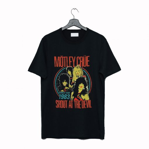 Motley Crue 'Shout at The Devil 83 Tour T Shirt KM