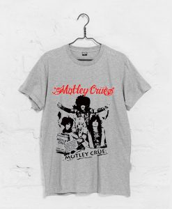 motley crue Shout At The Devil World Tour T Shirt KM