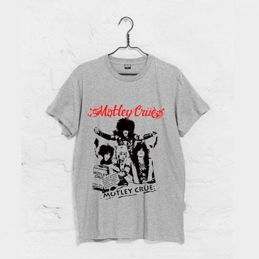 motley crue Shout At The Devil World Tour T Shirt KM
